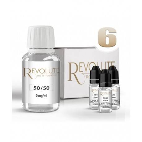 Pack DIY 6 mg/ml en 50/50 Revolute