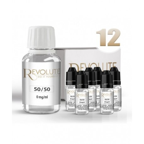 Pack DIY 12 mg/ml en 50/50 Revolute