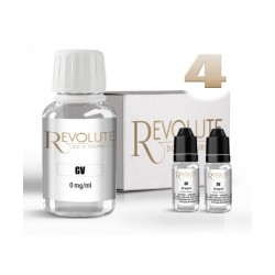 Pack DIY 4 mg/ml 100% GV - Revolute