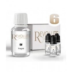 Pack DIY 6 mg/ml 100% GV - Revolute