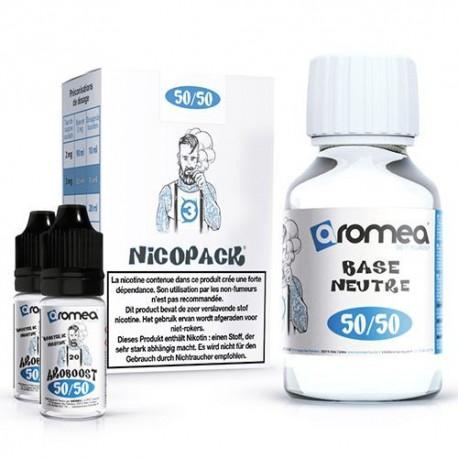 Nicopack 50% PG / 50%VG - Aromea