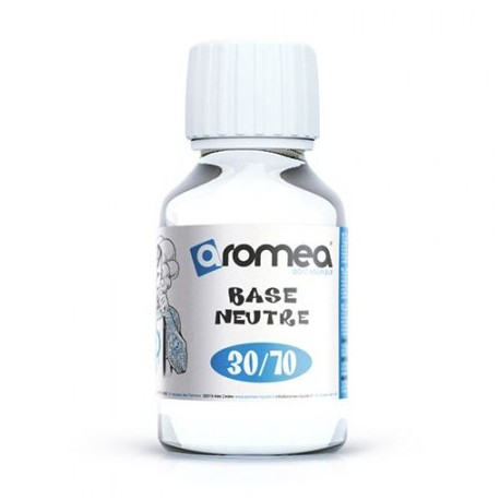 Base 30% PG / 70%VG - Aromea