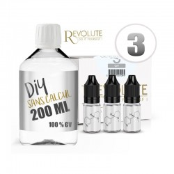 Pack 200 ml DIY 3 en GV - Revolute
