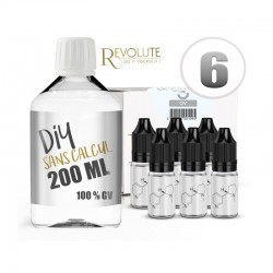 Pack 200 ml DIY 6 en GV - Revolute