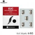 Résistance EUC SS316L céramic 0.6Ω - Vaporesso