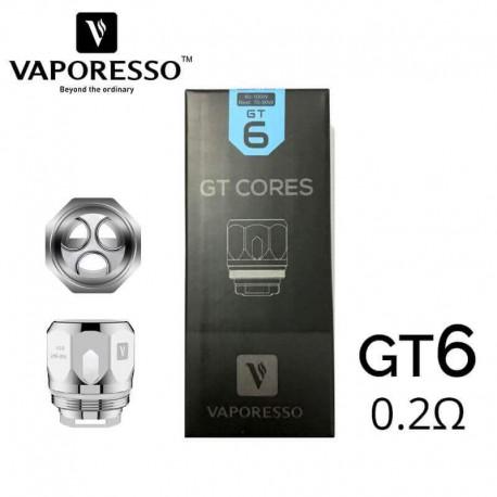 Résistances NRG GT6 Core 0.2Ω - Vaporesso