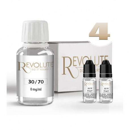 Pack DIY 4 mg/ml en 30/70 - Revolute