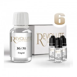Pack DIY 6 mg/ml en 30/70 - Revolute