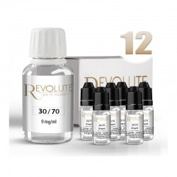 Pack DIY 12 mg/ml en 30/70 - Revolute