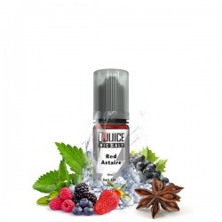 Sel de nicotine N+ Red Astaire 10ml - T-Juice