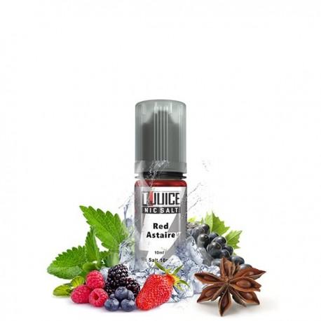 Sel de nicotine N+ Red Astaire 10ml - T-Juice
