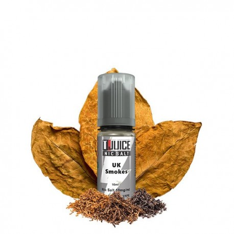 Sel de nicotine N+ UK Smokes 10ml - T-Juice