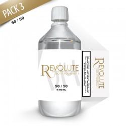 Pack DIY 3 1litre en 50/50 - Revolute