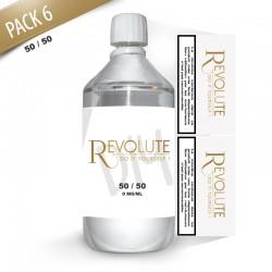 Pack DIY 6 1litre en 50/50 - Revolute