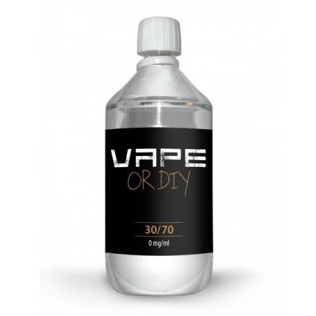 Base 30/70 1 Litre Vape or Diy 0 Mg