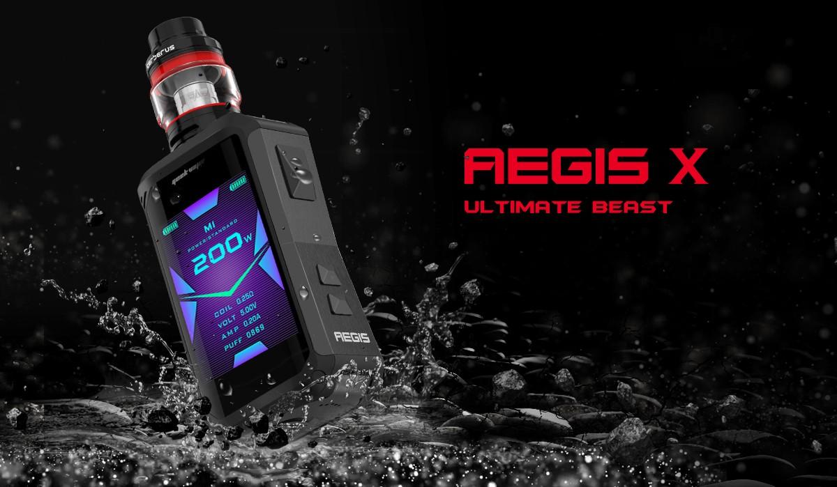 Aegis X est l'appareil à double batterie le plus avancé à ce jour.