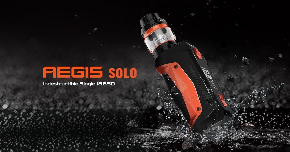 L'Aegis Solo est une version compacte de l'Aegis d'origine